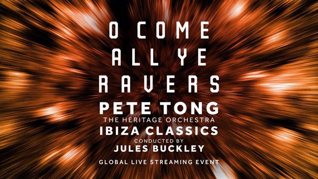 Pete Tong y The Heritage Orchestra juntos en 'O Come All Ye Ravers'