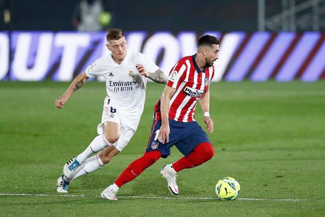 Kroos (Real Madrid) y Héctor Herrera (Atlético)