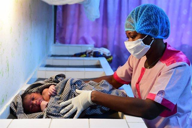 Hospital a las afueras de Abiyán, en Costa de Marfil