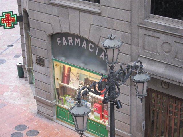 Una farmàcia.