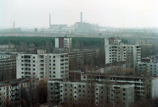 Imagen de archivo de la zona de exclusión de Chernóbil.