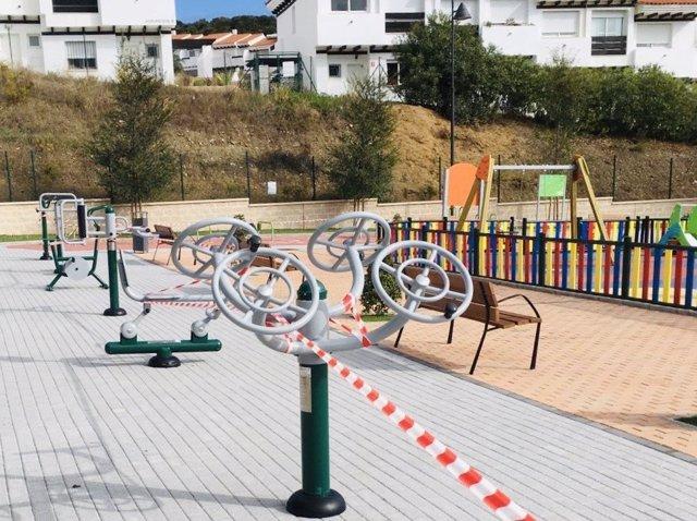 las zonas de juegos infantiles de Mijas vuelven a abrir tras ser clausuradas por COVID