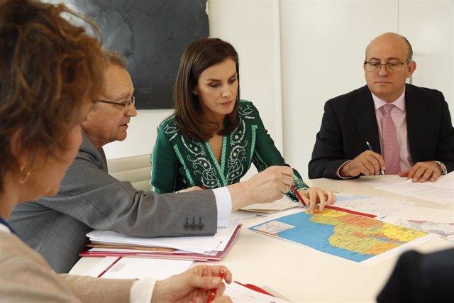 La Reina prepara su viaje de cooperación a Mozambique en 2019