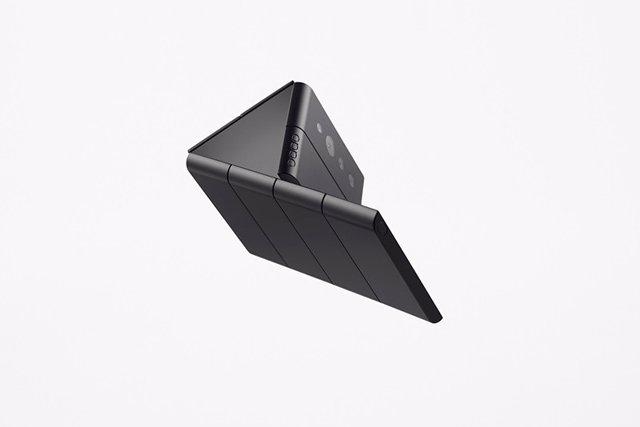 Diseño conceptural Slide-phone'