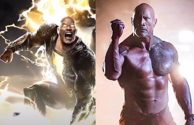 """Así entrena Dwayne Johnson para ser """"malo"""" como Black Adam en el Universo DC"""