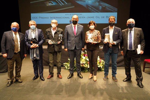 Entrega del premio de Poesía Jaime Gil de Biedma.