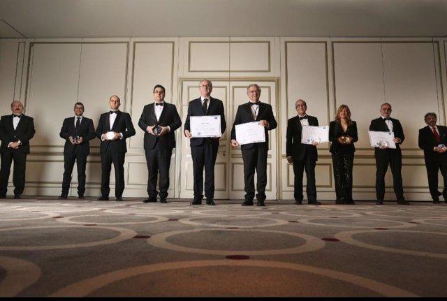 Galardonados en la I Edición de los Premios Pasteur de la Medicina