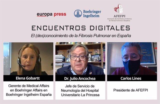 Encuentro digital 'El (des)conocimiento de la Fibrosis Pulmonar en España'