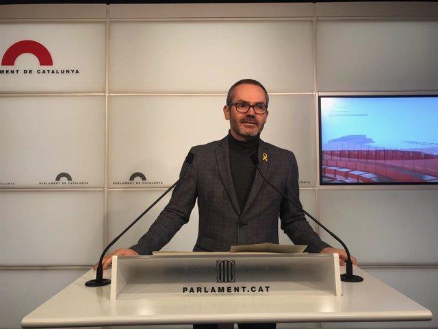 El vicepresident primer del Parlament, Josep Costa (JxCat)