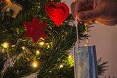 Foto: Navidad sin besos ni abrazos