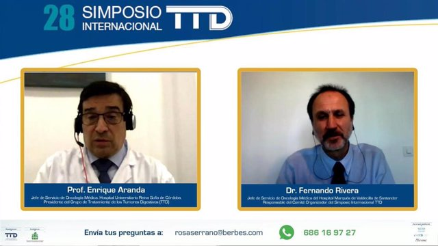 El Simposio Internacional del Grupo de Tratamiento de los Tumores Digestivos (TTD) se celebra por primera vez en formato virtual