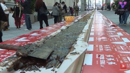 Este es el turrón más largo del mundo con más de 50 metros de largo
