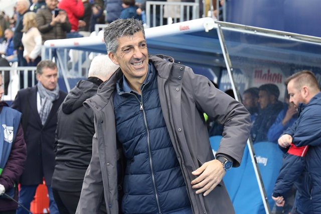 Imanol Alguacil, head coach of Real Sociedad, during the Spanish League, La Liga, football match played between CD Leganes and Real Sociedad at Butarque Stadium on February 01, 2020, in Madrid, Spain.