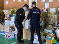 Policía Nacional recoge entre sus agentes tres toneladas de alimentos y juguetes en una campaña solidaria en Málaga 1