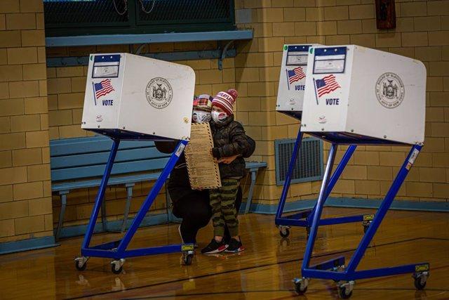 Col·legi electoral a Nova York