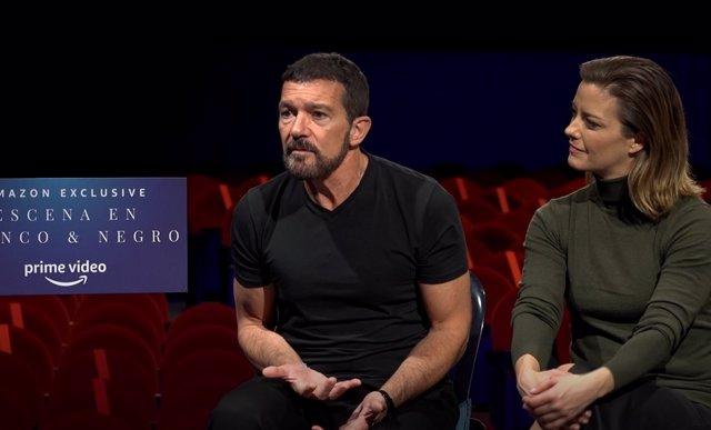 Antonio Banderas  y María Casado presentan 'Escena en Blanco & Negro'