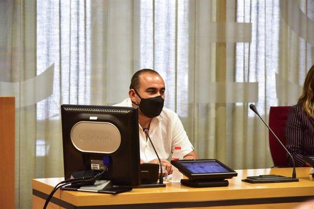 El secretari general de CCOO de Catalunya, Javier Pacheco.