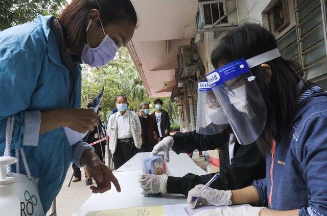 La ciudad de Hong Kong hace frente a su cuarta ola de coronavirus.