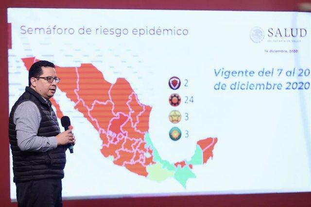 El director general de Epidemiología del Ministerio de Salud, José Luis Alomía.