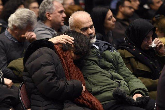Funeral celebrado en Ottawa, Canadá, en homenaje de las víctimas del derribo por error de un avión comercial por parte de la Guardia Revolucionaria de Irán, en el que murieron 178 personas, mayoría de ellas con nacionalidad y vínculos canadienses.