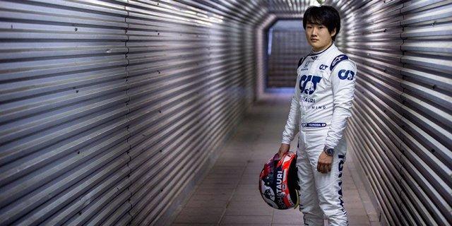 El piloto japonés Yuki Tsunoda, nuevo piloto de AlphaTauri para 2021