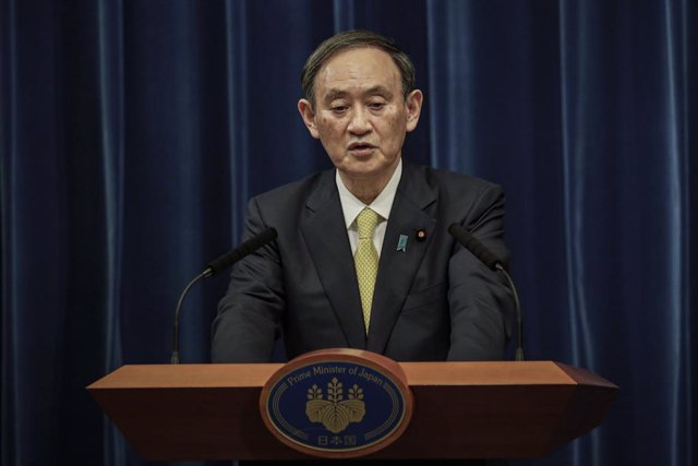 04 December 2020, Japan, Tokyo: Japanese Prime Minister Yoshihide Suga speaks during a press conference. Photo: -/Pool Photo via ZUMA Wire/dpa