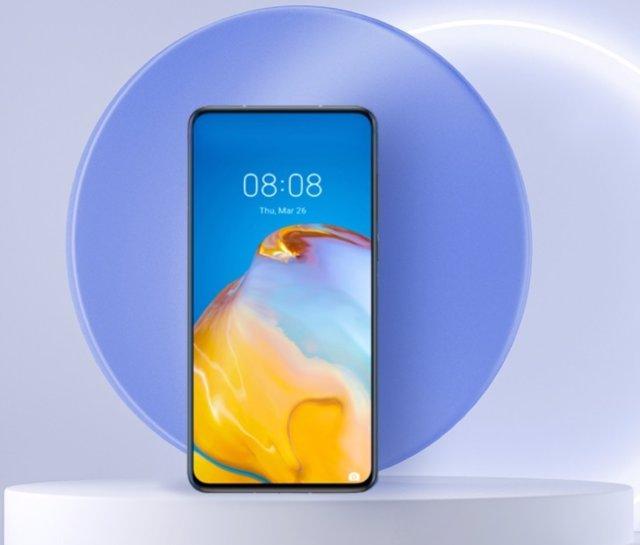 Smartphone Huawei con HarmonyOS