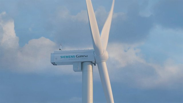 Aerogenerador de Siemens Gamesa