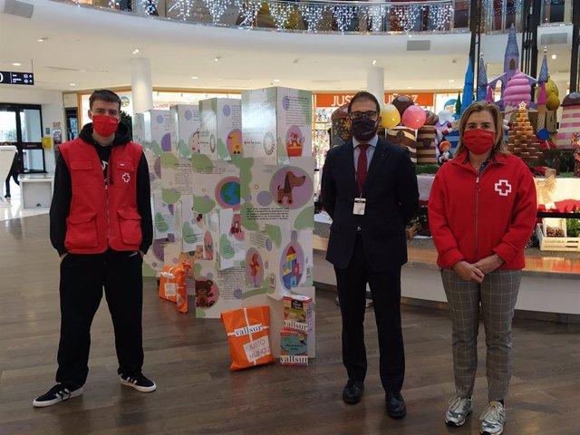 Exposición 'Juguete Educativo' de Cruz Roja Juventud en Vallsur
