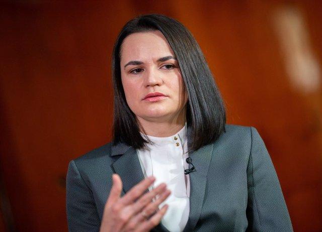 Svetlana Tijnovskaya, en una imagen de archivo de una entrevista con la agencia APA en Viena