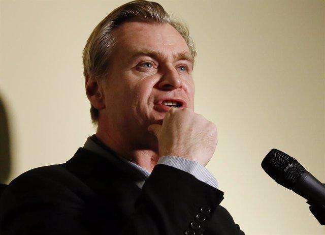 Christopher Nolan los Kodak Film Awards el 29 de enero de 2020 en Los Angeles, California