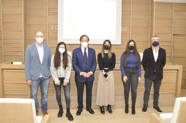 José Tubío, María Crugeiras, Carlos Lamora, Paloma Sosa, Esther Calviño y José Martínez Costas