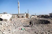 Bombardeo en la provincia siria de Idlib