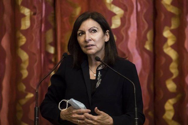 Anne Hidalgo, alcaldessa de París.