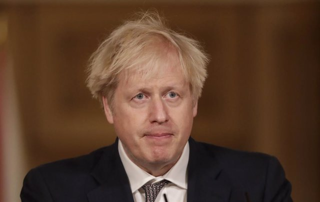 16 December 2020, England, London: UK Prime Minister Boris Johnson attends a media briefing on the coronavirus (COVID-19) at Downing Street. Photo: Matt Dunham/PA Wire/dpa