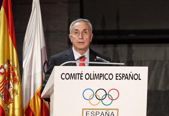 El presidente del Comité Olímpico Español (COE), Alejandro Blanco