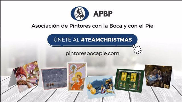 Felicita la Navidad con tarjetas originales de la APBP