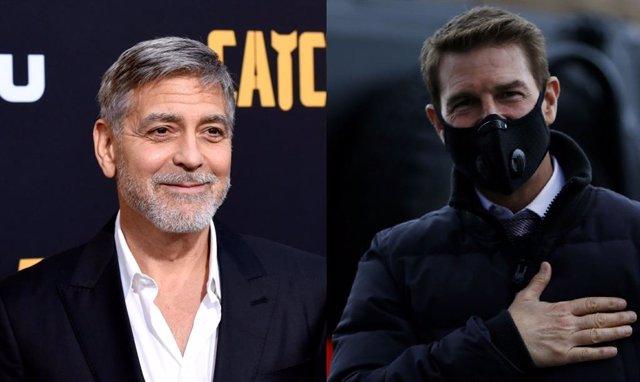 """George Clooney apoya la bronca de Tom Cruise a sus trabajadores: """"No ha exagerado"""""""