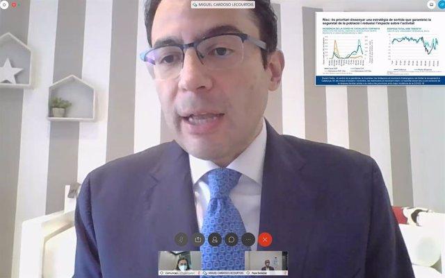 L'economista en cap per a Espanya i Portugal de BBVA Research, Miguel Cardoso