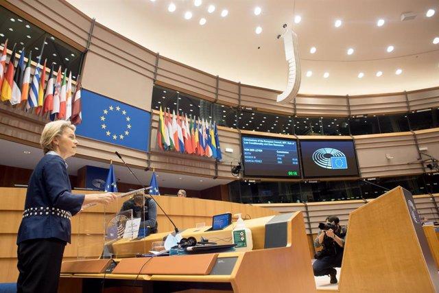 Comissió Europea, 16 de desembre del 2020