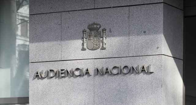 Imagen de la fachada de la Audiencia Nacional (Madrid)