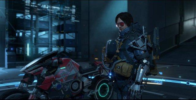 El universo de Cyberpunk 2077 en Death Stranding