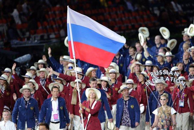 Equipo ruso en los Juegos de Londres'12