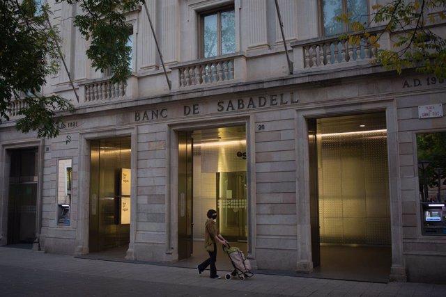 Seu històrica del Banc Sabadell.