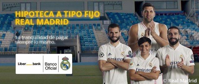 Nace la Hipoteca Real Madrid, de Liberbank