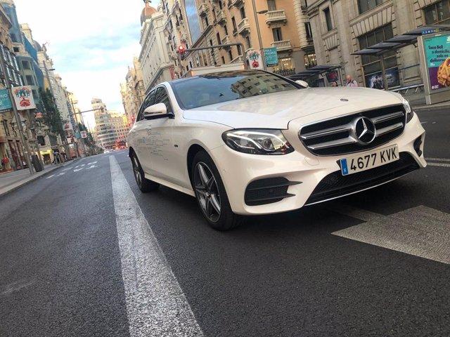 Modelo de Mercedes-Benz.