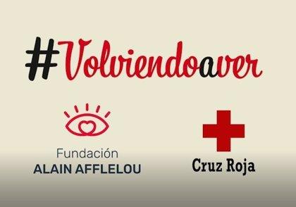 La Fundación Alain Afflelou revisará la vista y entregará gafas a personas vulnerables en colaboración con Cruz Roja