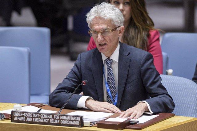 El vice secretario general de la ONU para Asuntos Humanitarios, Mark Lowcock