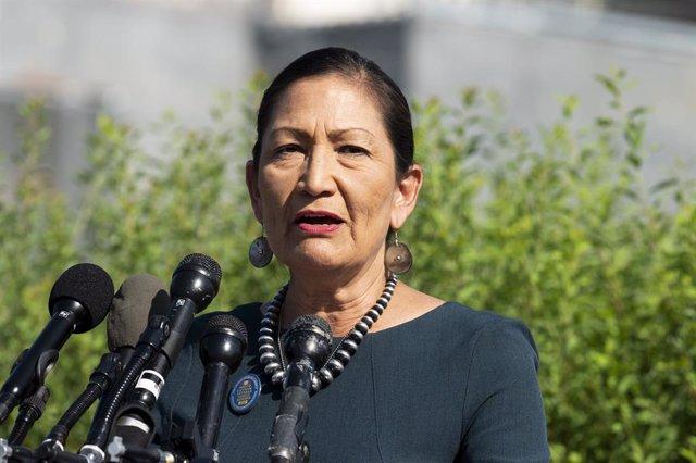 La congresista Deb Haaland.