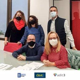 Foto equipo Adit3 y Clavei